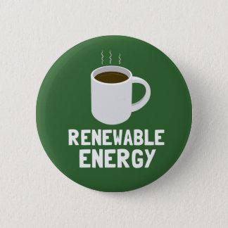 Badges Tasse de café d'énergie renouvelable