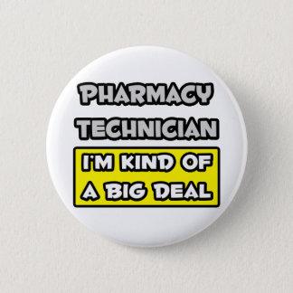 Badges Technicien de pharmacie. Je suis un peu une