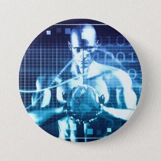 Badges Technologies intégrées sur un concept de niveau