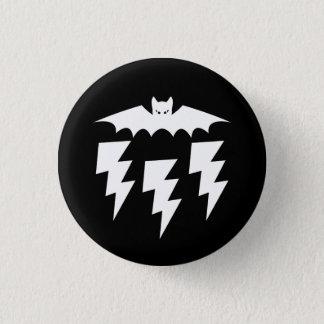 Badges Tempête industrielle gothique de foudre de chat de