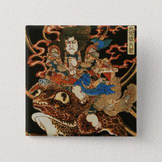 Badges Tenjiku Tokubei montant l'amende géante de