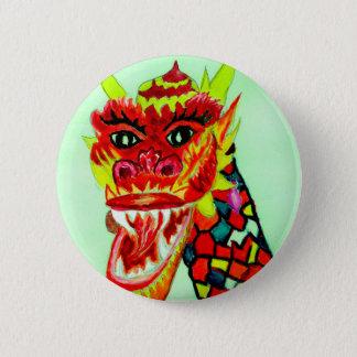 Badges Tête chinoise de dragon