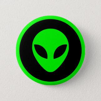 Badges Tête étrangère verte