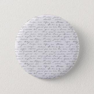 Badges Texte écrit de main élégante