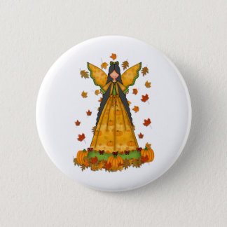 Badges thanksgiving d'ange de récolte