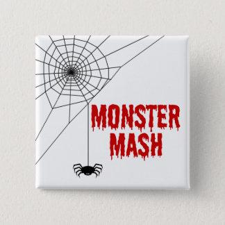 Badges Toile d'araignée de Halloween de mâche de monstre