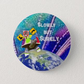 Badges Tortue drôle