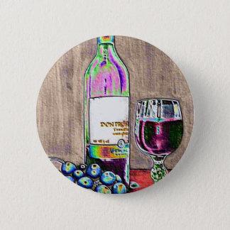 Badges Toujours l'art moderne de la vie du vin et les