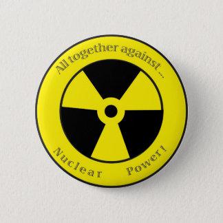 Badges Tous contre… l'énergie nucléaire !