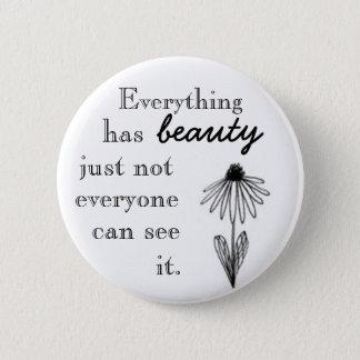 Badges Tout a la beauté juste pas que chacun peut voir