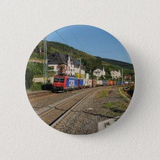 Badges Train de marchandises dans les Lorch au Rhin