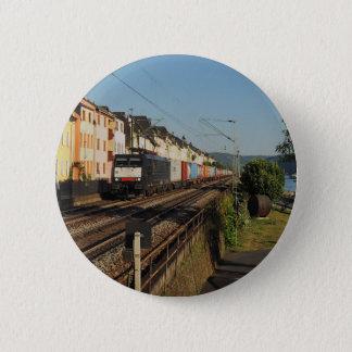 Badges Train de marchandises dans les Lorchhausen au Rhin