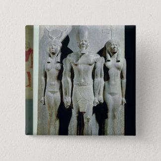 Badges Triade de Menkaure avec la déesse Hathor
