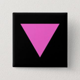 Badges Triangle rose de gay pride