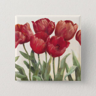 Badges Tulipes rouges