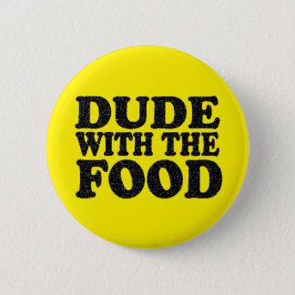 Badges Type avec le bouton de goupille de nourriture