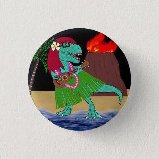 Badges Ukulélé hawaïenne de dinosaure