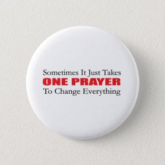 Badges Un bouton de prière