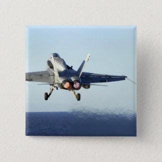 Badges Un frelon de F/A-18C lance du poste de pilotage