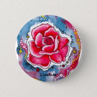 """Badges """"Un rose """""""