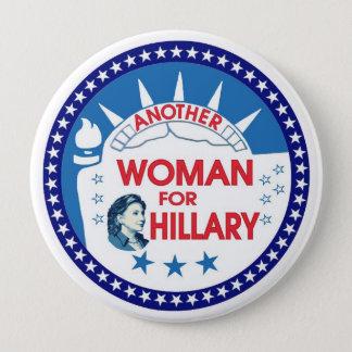 Badges Une autre femme pour Hillary