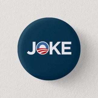 Badges Une plaisanterie du gouvernement (bleu-foncé)