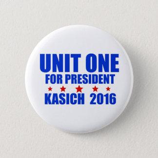 Badges Unité une pour le Président Kasich 2016