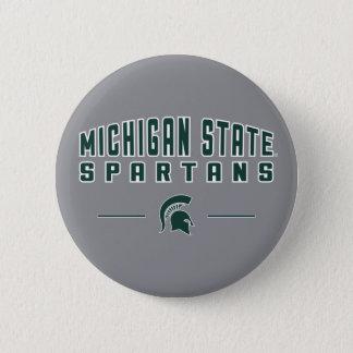 Badges Université de l'Etat d'État du Michigan du fanion