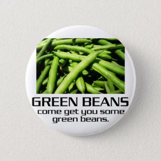 Badges Venez obtenez-vous quelques haricots verts