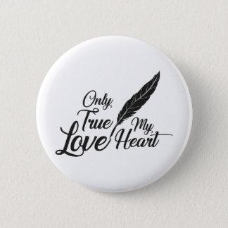 Badges Véritable plume d'amour d'illustration