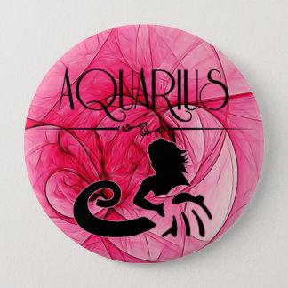 Badges Verseau pour Madame Zodiac dans le rose
