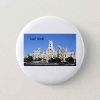 Badges Ville de l'Espagne, Madrid hôtel Plaza de Cibeles
