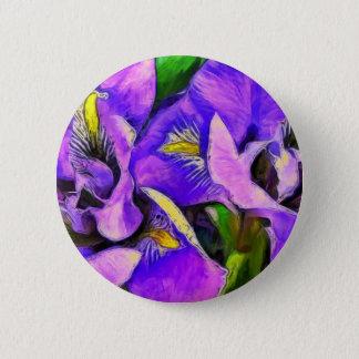 Badges Violette de couleur d'iris