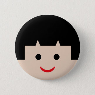 Badges visages 5 d'Asiatique