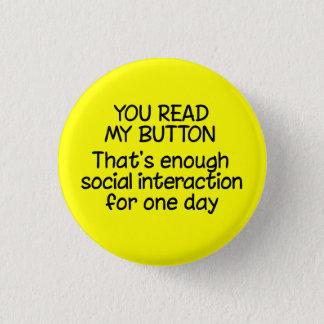 Badges Vous avez lu mon bouton