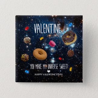 Badges Vous faites mon bonbon Valentine à univers