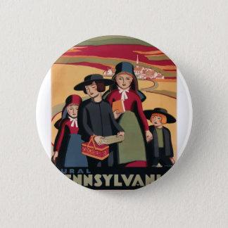 Badges Voyage vintage Pennsylvanie rurale