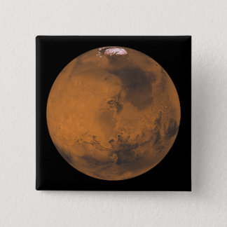 Badges Vue de couleur globale de Mars