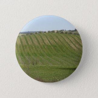 Badges Vue pittoresque de flanc de coteau de roulement