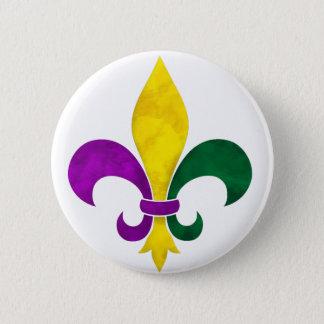 Badges watercolor fleur de lis