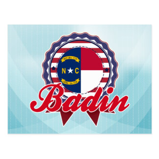 Badin, OR Carte Postale