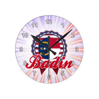 Badin, OR Pendule Murale