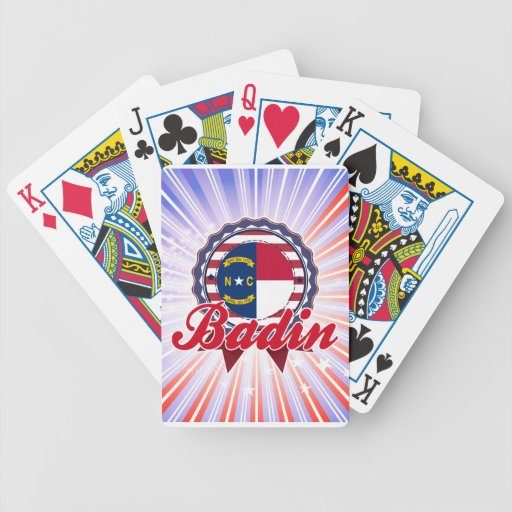 Badin, OR Cartes À Jouer