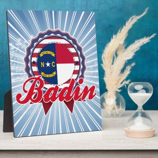 Badin, OR Plaques D'affichage