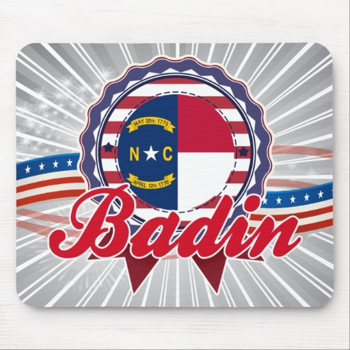 Badin, OR Tapis De Souris