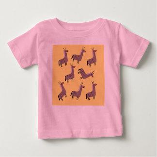 Badine des lamas de T-shirt
