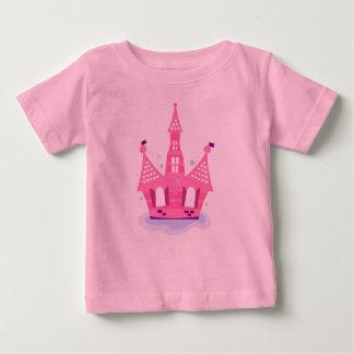 Badine le rose de T-shirt avec PRINCESSE CASTLE