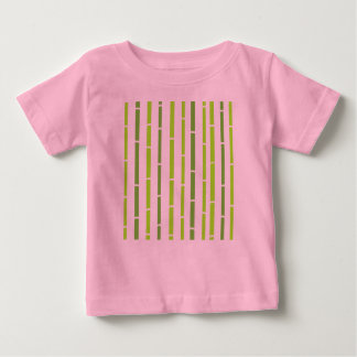 Badine le rose de T-shirt de concepteurs avec le