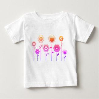 BADINE le T-shirt avec les fleurs ROSES