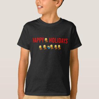 Badine le T-shirt noir de vacances